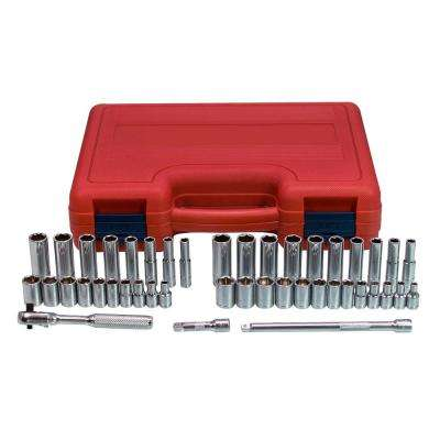 Socket Set 1/4 Drive (44-Piece)