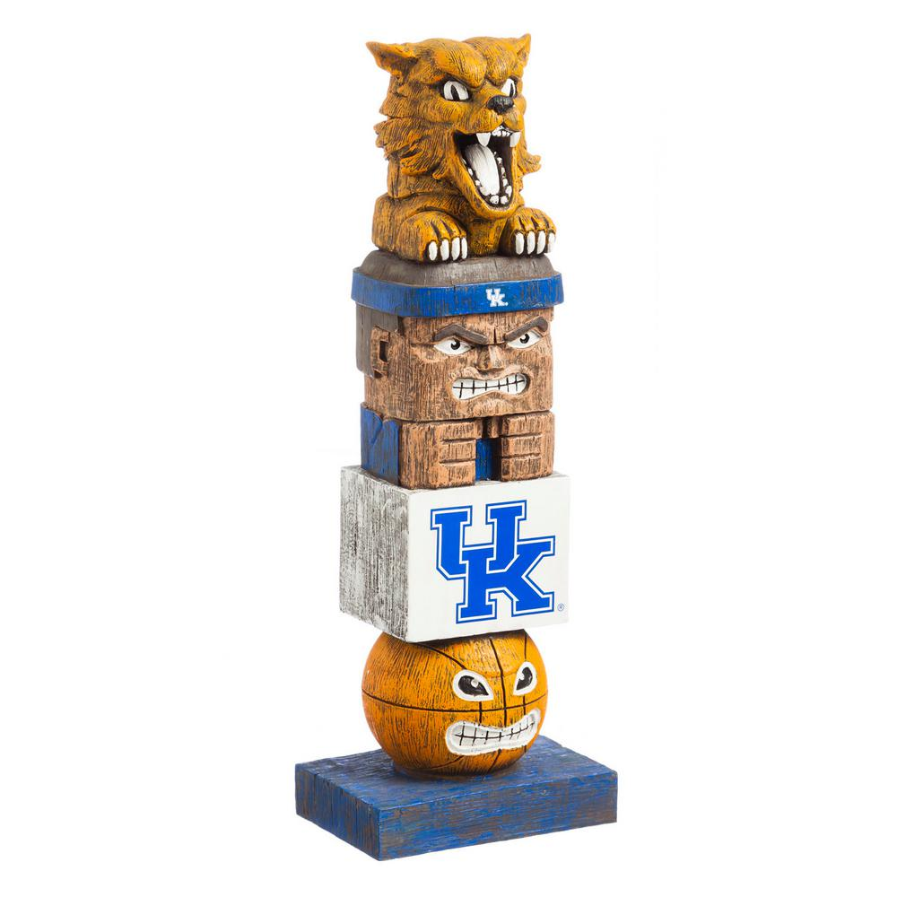 Garden Statues Home Depot: Evergreen University Of Kentucky Tiki Totem Garden Statue