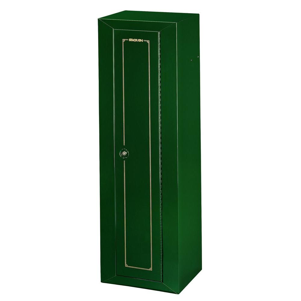10-Gun 6 cu. ft. Key Lock Security Cabinet
