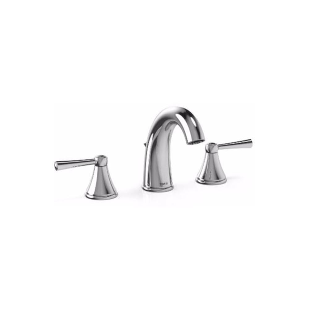 TOTO Silas 8 in. Widespread 2-Handle Bathroom Faucet in Polished ...