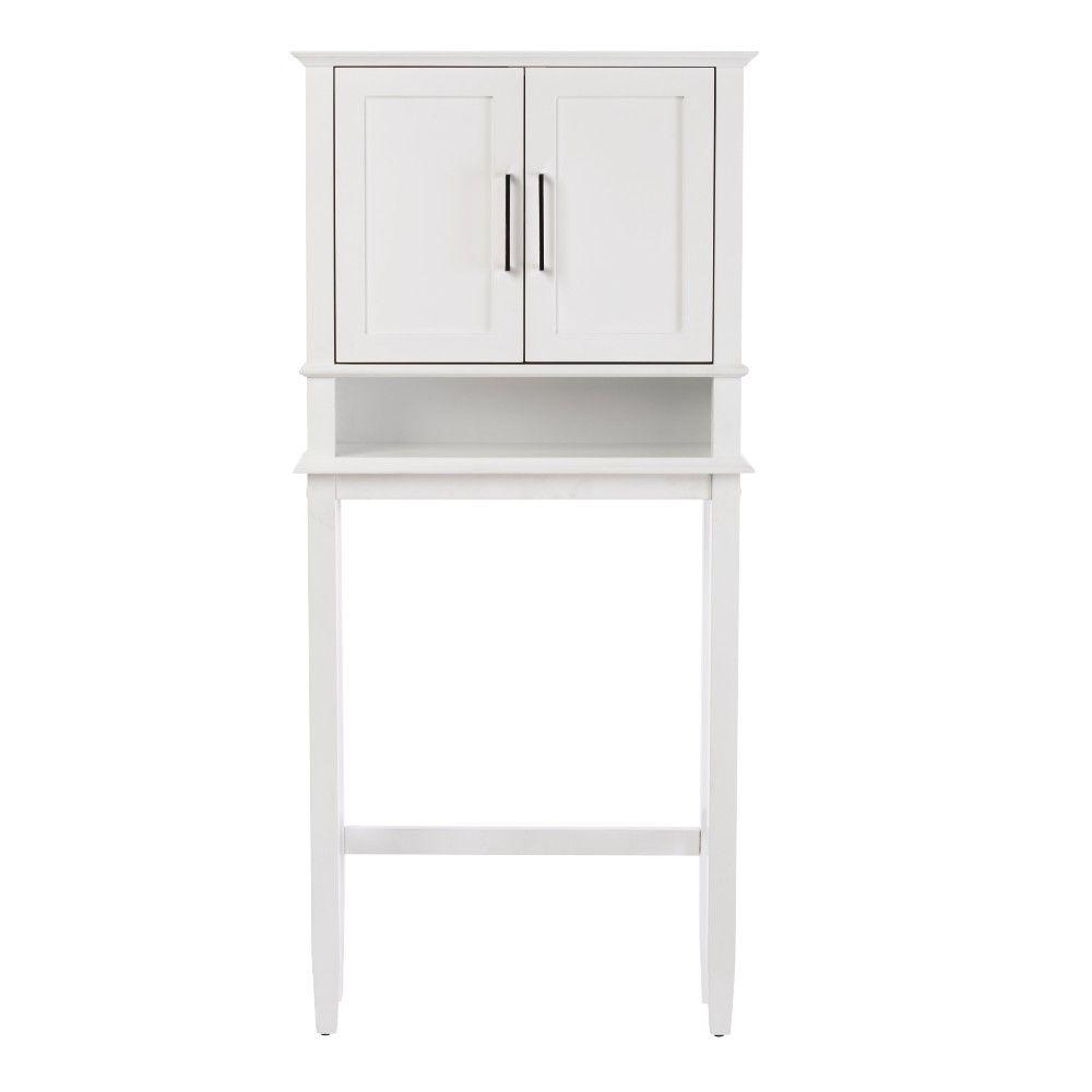 Home Decorators Collection Sonoma 65 in. H Space Saver in White