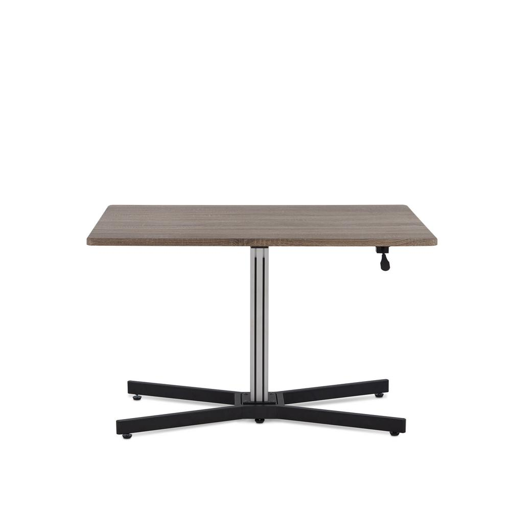 Red Chrome Desk Red Grey Luster Picture 530