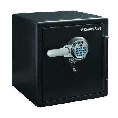 1.23 cu. ft. Fire and Water Safe, Extra Large Biometric Fingerprint Safe with Dual Key Lock