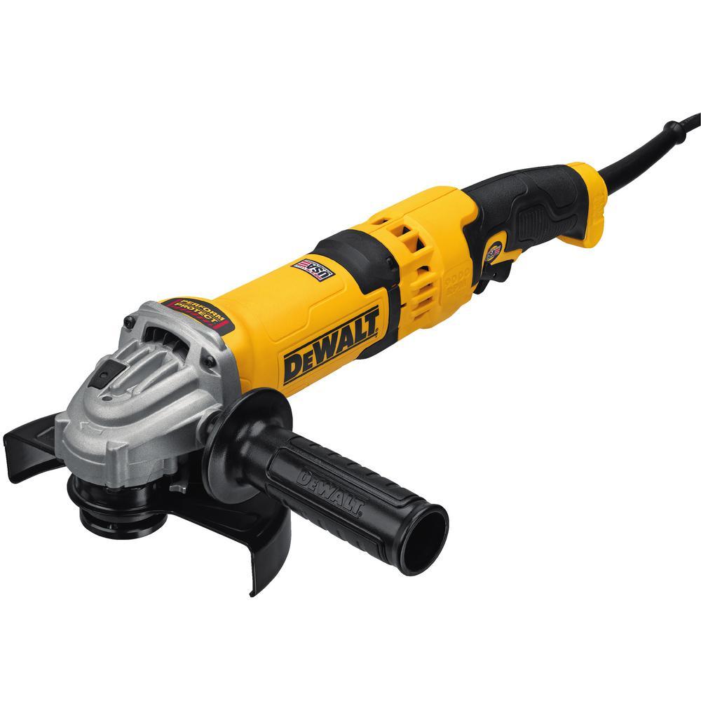 Dewalt 13 Amp Corded 4 1 2 In Angle Grinder Dwe43116