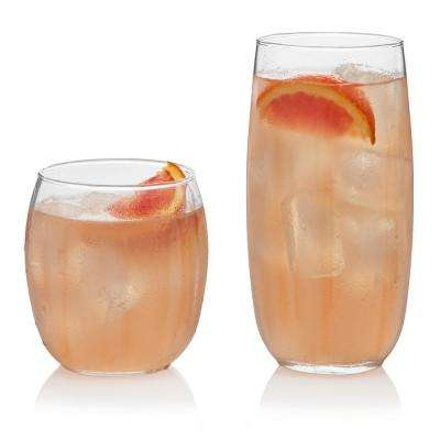 Samba 16-Piece Drinkware Glass Set