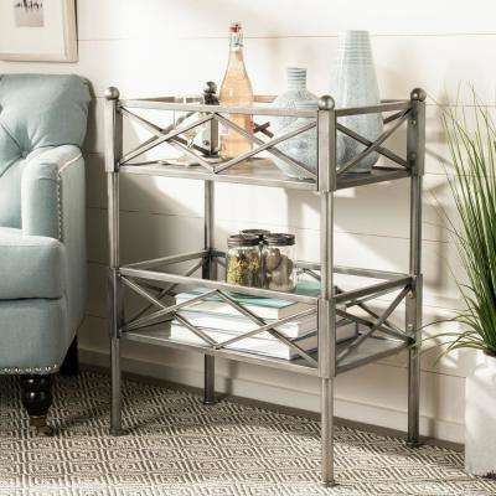 American Home Shelves Silver Storage Furniture