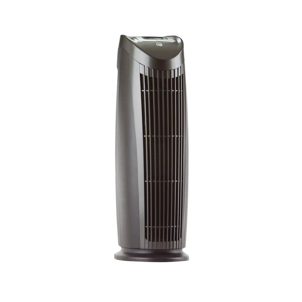 air purifier tower digital blacks filtered hepa individual. Black Bedroom Furniture Sets. Home Design Ideas