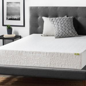 Lucid 10 inch King Ventilated Latex Foam Mattress by Lucid