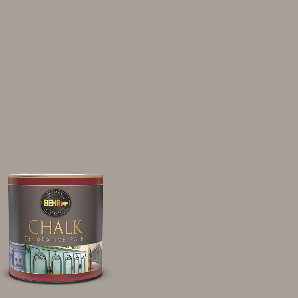 1 qt. #PPU24-09 True Taupewood Interior Chalk Decorative Paint