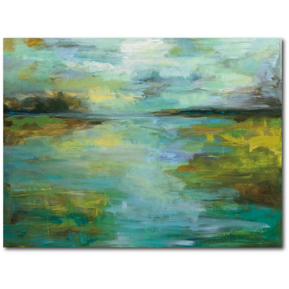 Courtside Market Serene Gallery-Wrapped Canvas Wall Art 20 in. x 16 in., Multi Color was $70.0 now $38.93 (44.0% off)