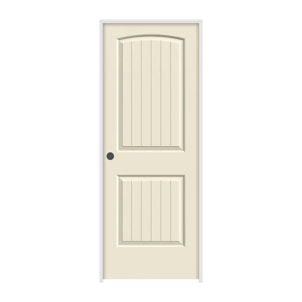 32 in. x 80 in. Santa Fe Primed Right-Hand Smooth Solid