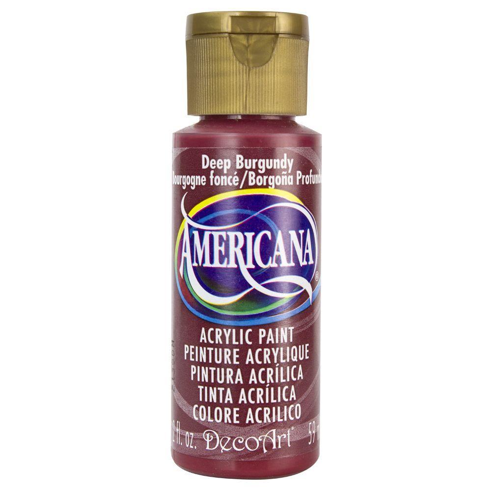 Americana 2 oz. Deep Burgundy Acrylic Paint