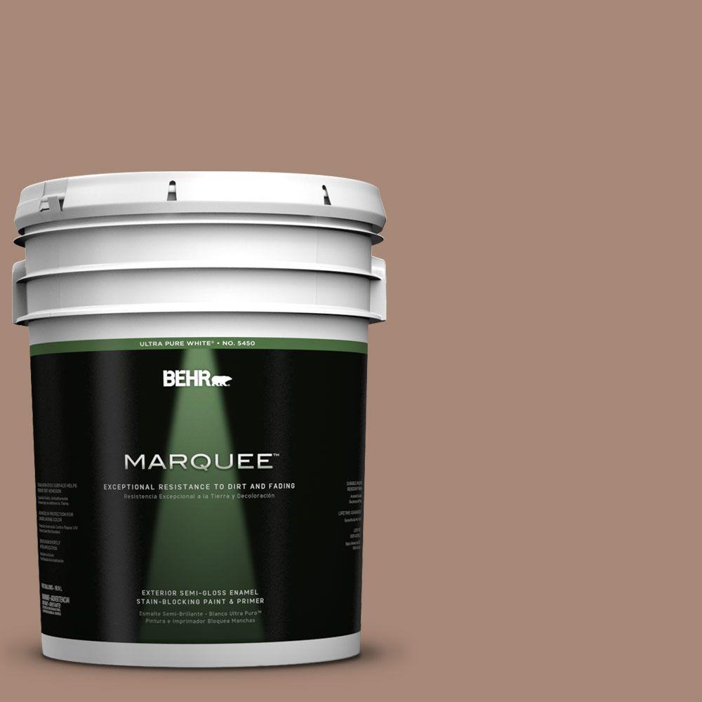 BEHR MARQUEE 5-gal. #PPU3-14 Tribal Pottery Semi-Gloss Enamel Exterior Paint
