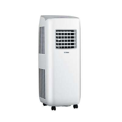 10000 BTU (6000 BTU (DOE)) Portable Air Conditioner for up to 350 sq. ft. with Dehumidifier in White