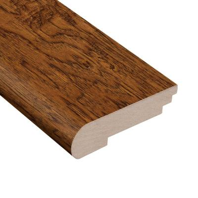 Distressed Palmero Hickory 1/2 in. Thick x 3-1/2 in. Wide x 78 in. Length Stair Nose Molding