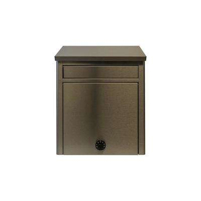 Winfield Stainless Steel Wall Mount Locking Mailbox