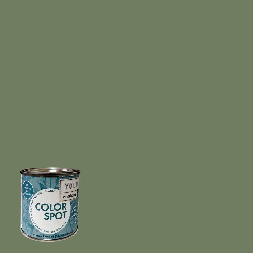 YOLO Colorhouse 8 oz. Glass .05 ColorSpot Eggshell Interior Paint Sample-DISCONTINUED
