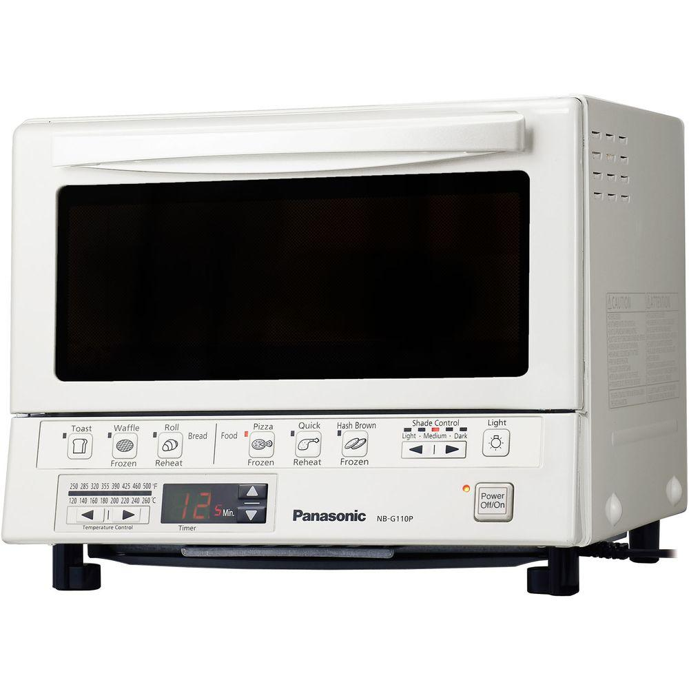Panasonic FlashXpress Silver Toaster Oven NB G110P The Home Depot