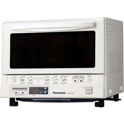 FlashXpress White Toaster Oven
