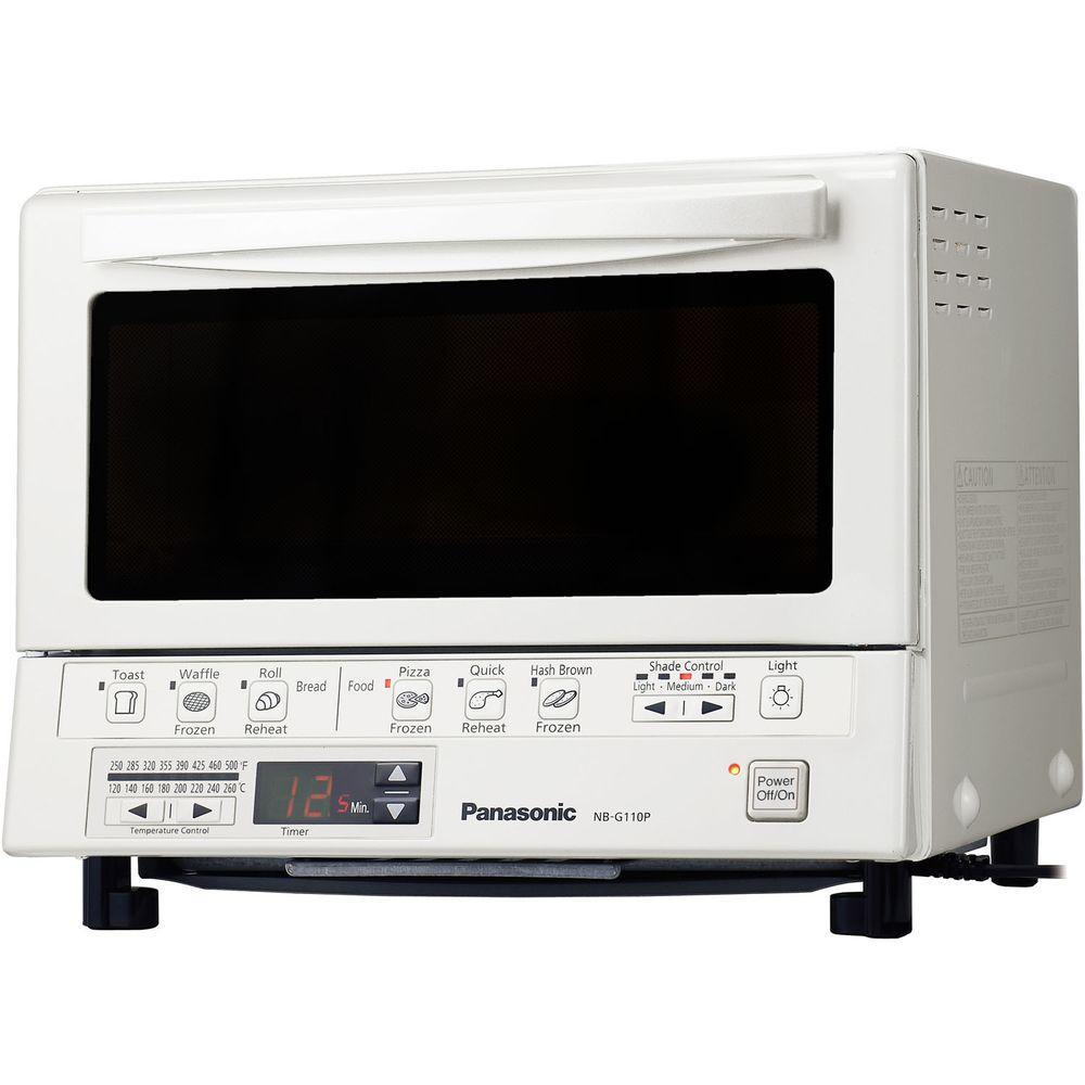 Panasonic Flashxpress White Toaster Oven Nb G110pw The