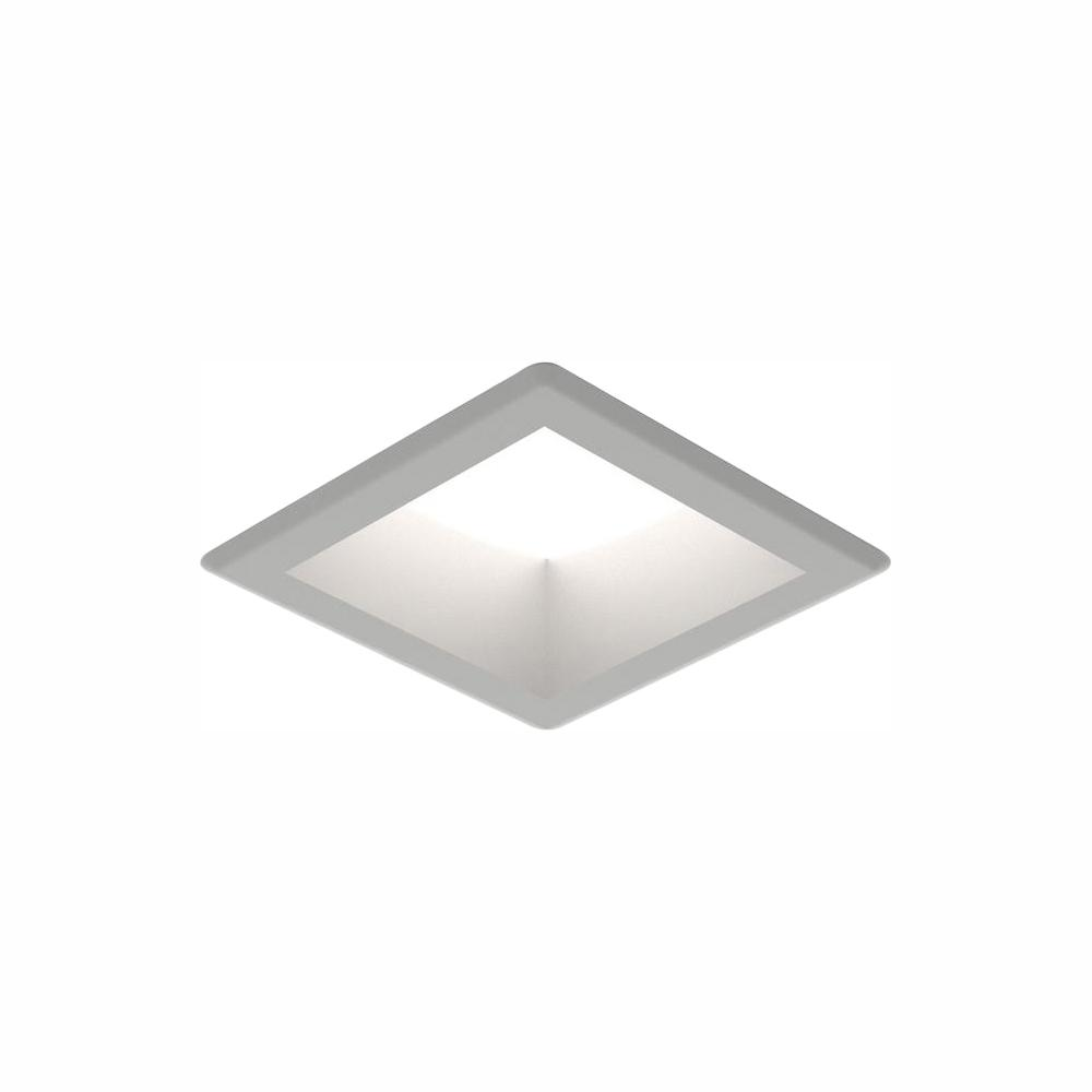 Sea Gull Lighting Traverse Unlimited 6 in. Satin Nickel Integrated LED Recessed Kit