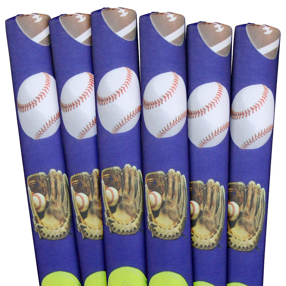 Sports Blue Pool Noodles (6-Pack)