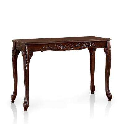 Jossa Dark Cherry Sofa Table