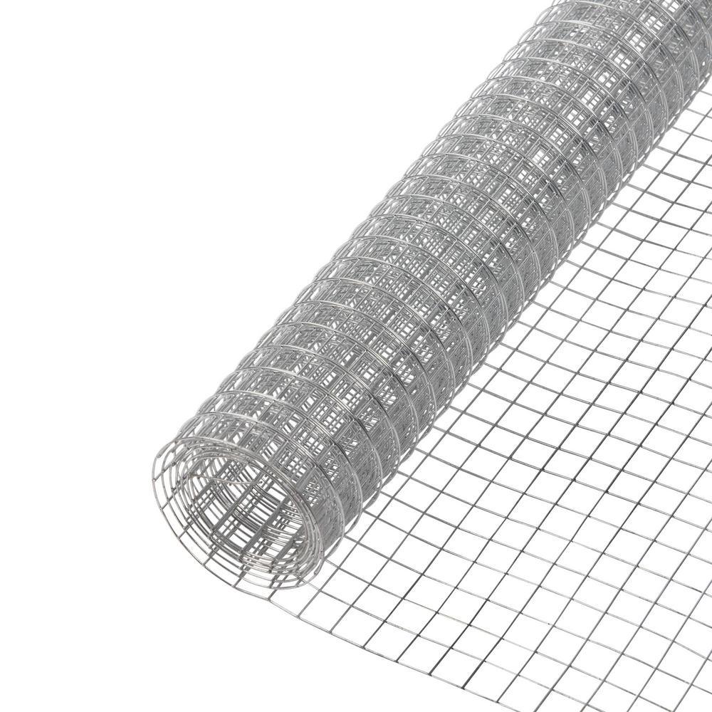 Everbilt 1 2 In X 4 Ft X 25 Ft 19 Gauge Steel Hardware Cloth 308226eb The Home Depot