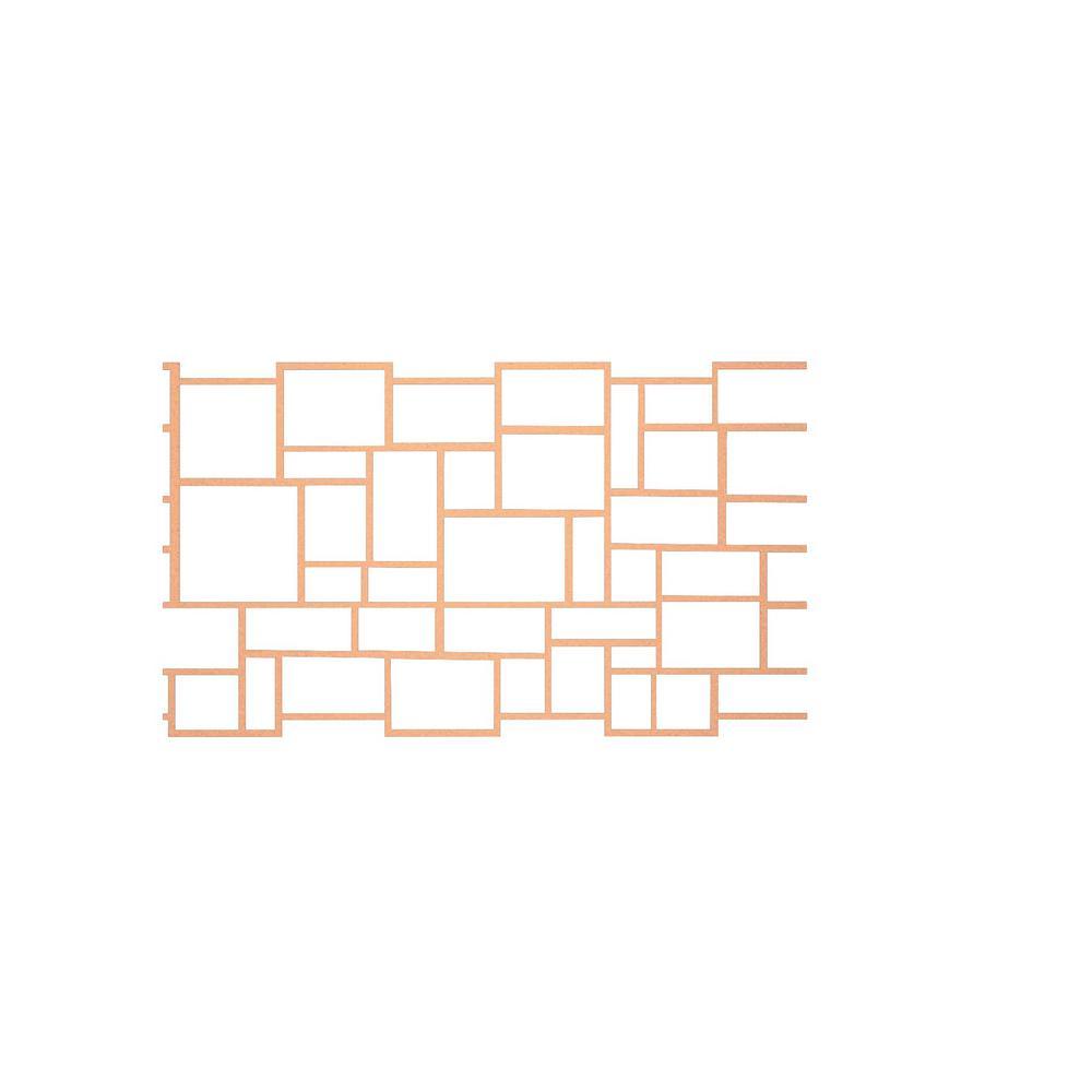 36 in. x 335 ft. Ashlar Cut Stone Decorative Concrete Paper Stencil