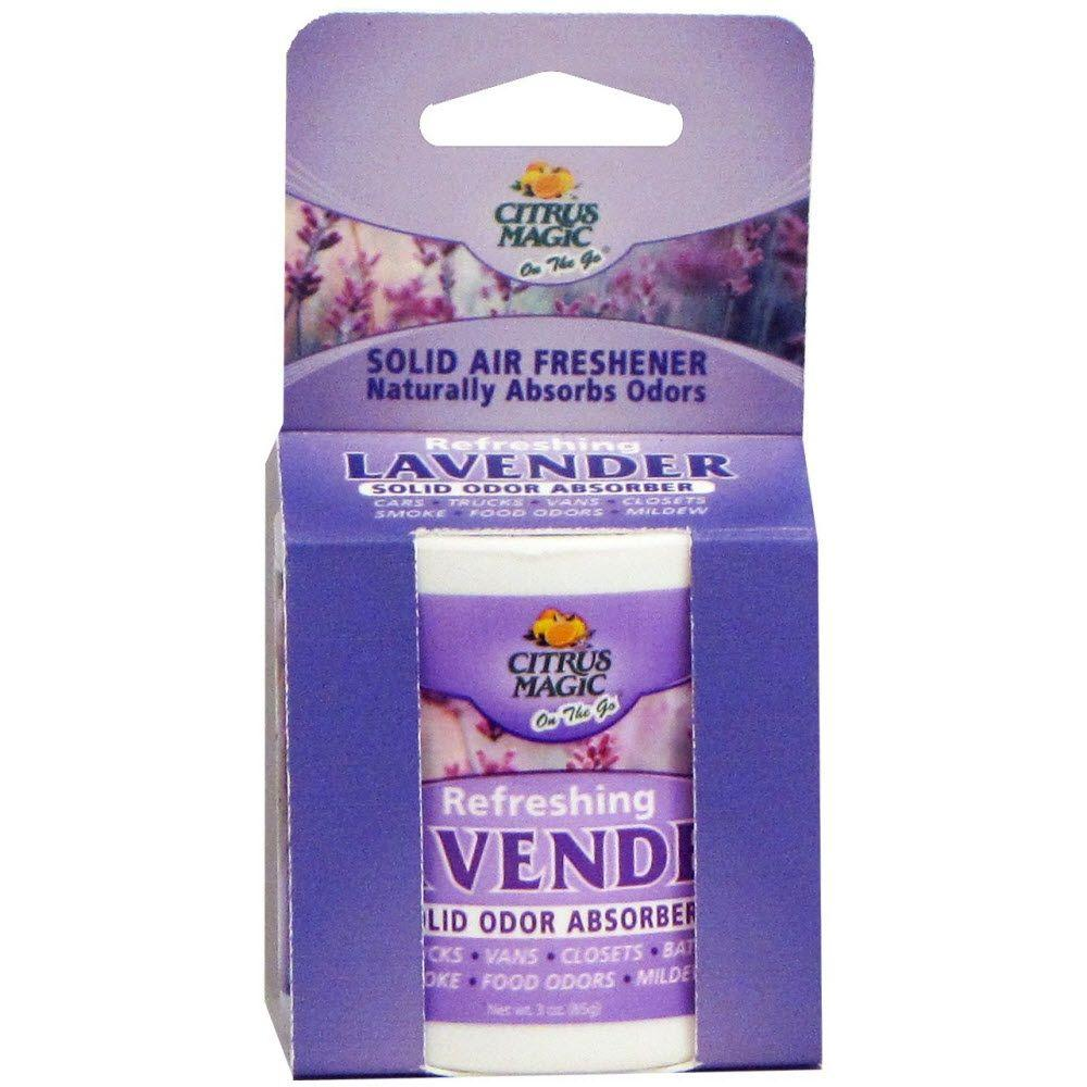 3 oz. Lavender On The Go Solid Air Freshener with Shelf