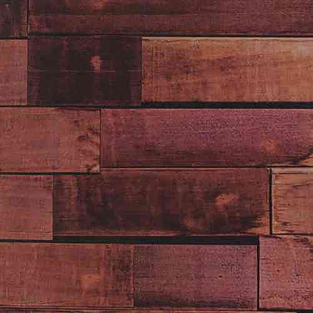 Decowall New York Vanilla Wood Peel And Stick 3d Effect