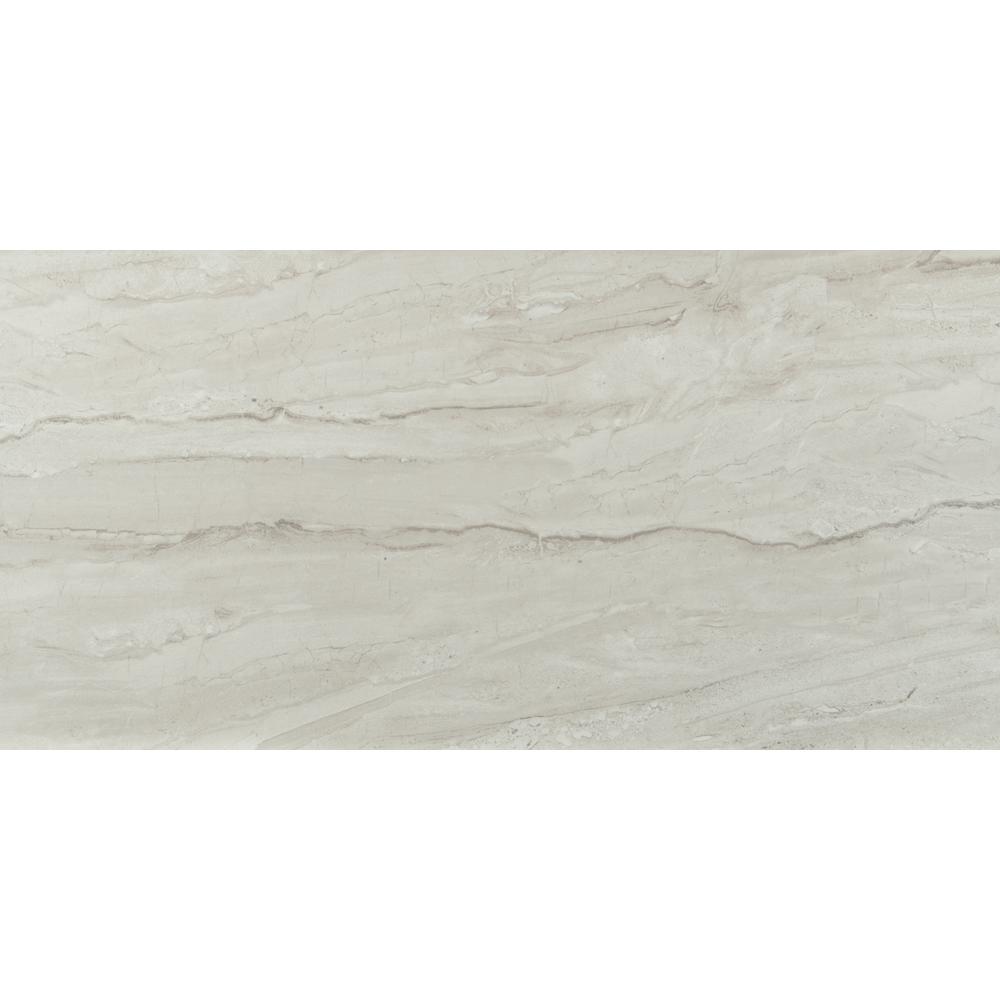 Alaska Glacier 12 in. x 24 in. Glazed Ceramic Floor and Wall Tile (16 sq. ft./case)