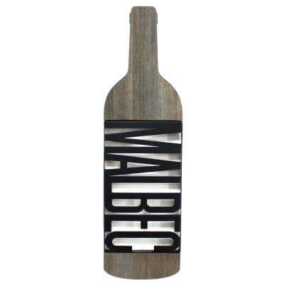 Tinley Malbec Wooden Sign