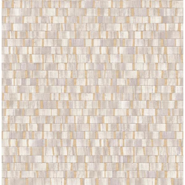 Fine Decor Constantine Neutral Faux Wood Wallpaper 2900-24923