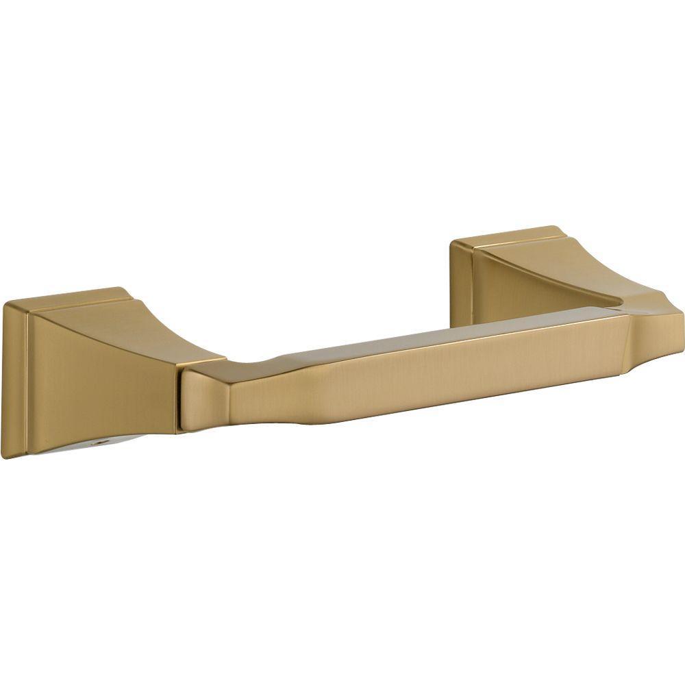 Dryden Pivoting Toilet Paper Holder in Champagne Bronze