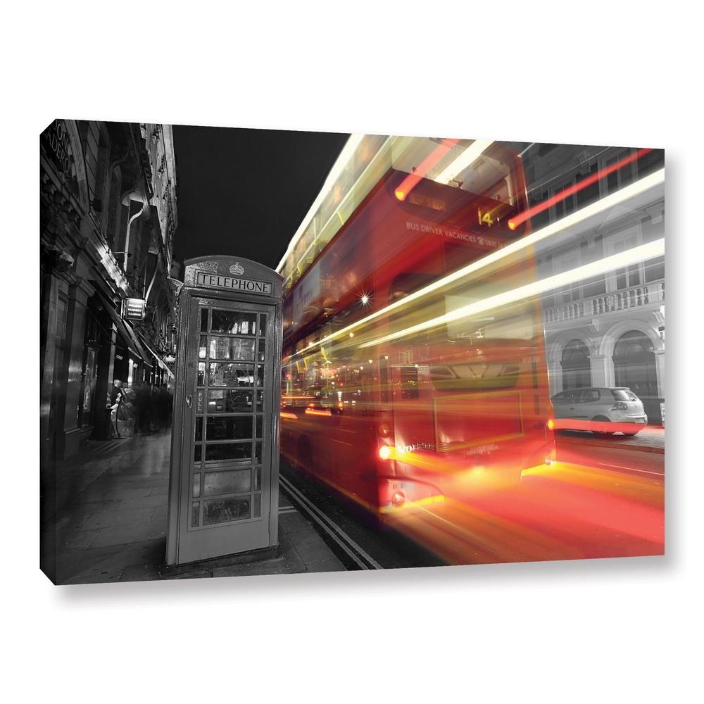 """London III"" by Revolver Ocelot Unframed Canvas Wall Art"