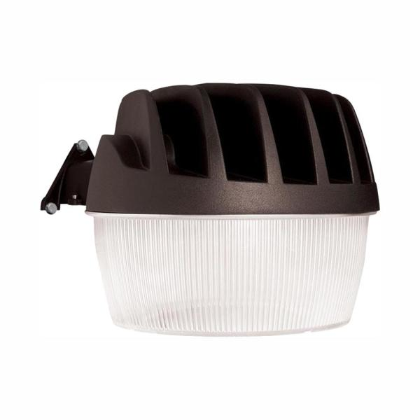 Bronze Outdoor Integrated LED Area Dusk to Dawn Security Light with Photocell Sensor, 5500 Lumens, 5000K Daylight