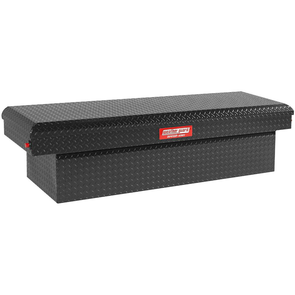 Defender Series 71 in. x 19 in. x 17 in. Matte Black Aluminum  sc 1 st  The Home Depot & Truck Boxes - Tool Storage - The Home Depot