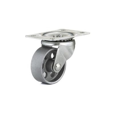 2-1/2 in. Metal Swivel Without Brake plate Caster, 176.4 lb. Load Rating