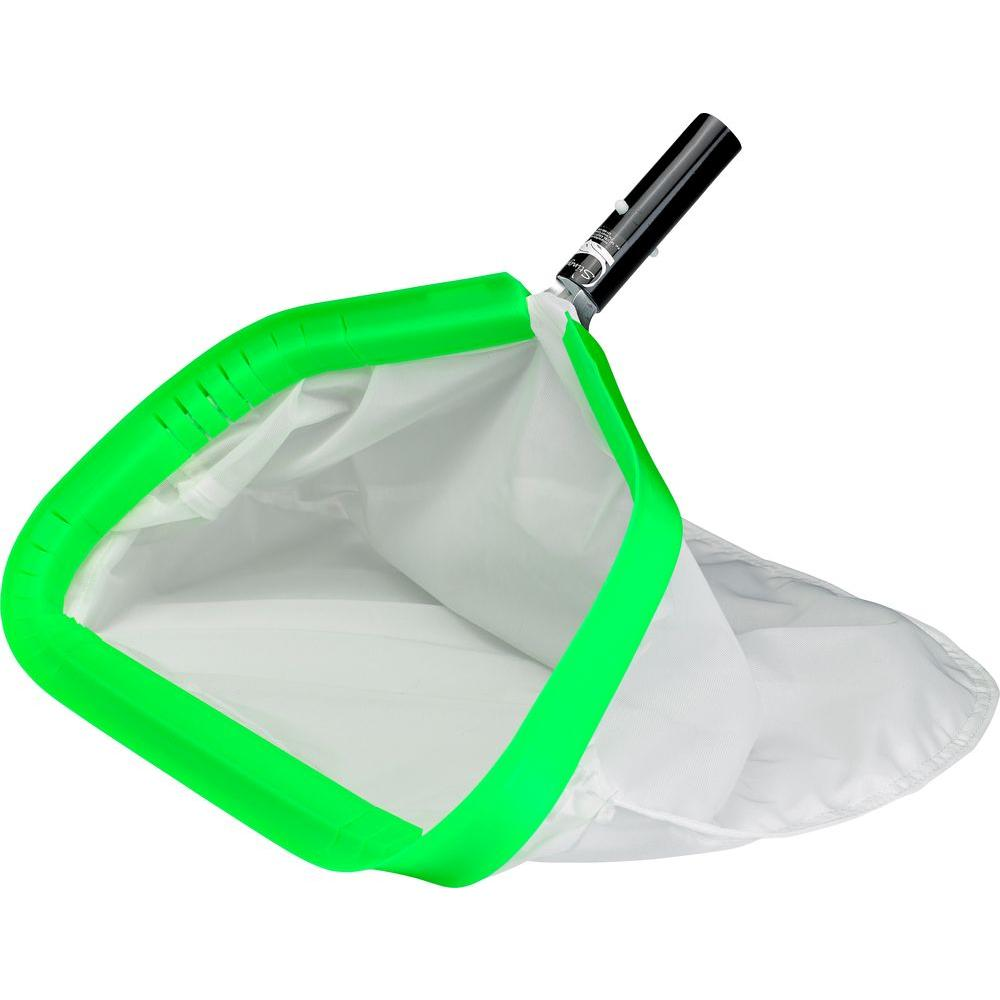 Leaf Rake with Fine Mesh Bag