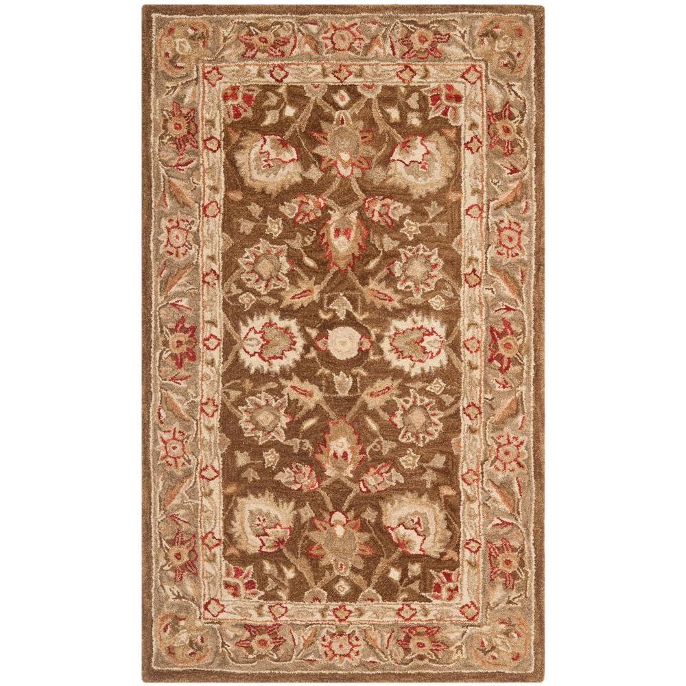 Safavieh Anatolia Brown/Green 4 ft. x 6 ft. Area Rug