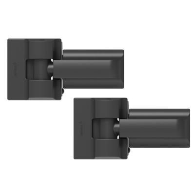 Heavy Duty 4 in. x 14 in. Modern Gate Hinge Pair - SS