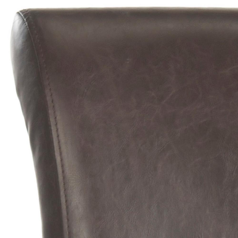 Fantastic Safavieh Seth 25 9 In Antique Brown Cushioned Bar Stool Bralicious Painted Fabric Chair Ideas Braliciousco