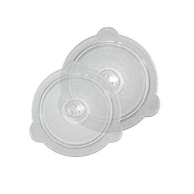 Cuchina Glass 2-Piece Microwave Lid Set