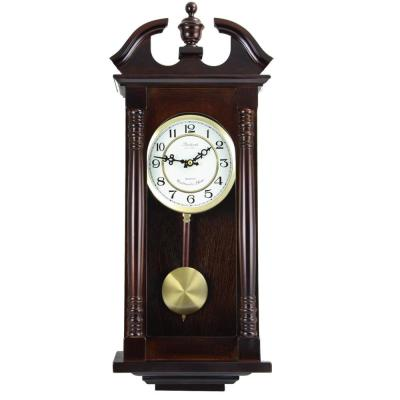 Cherry Oak Pendulum Wall Clock