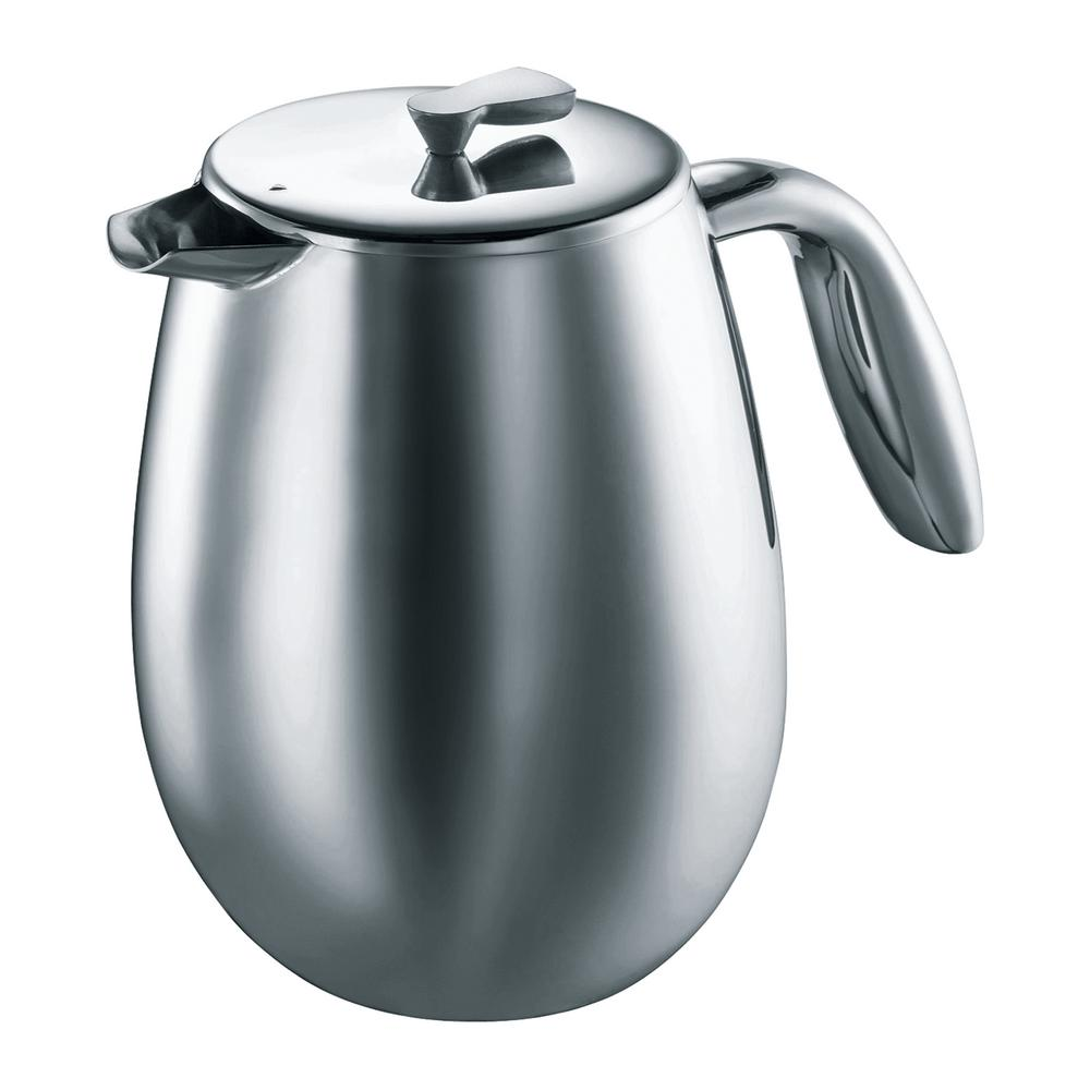 Bodum Columbia 12-Cup Stainless Steel French Press Coffee...