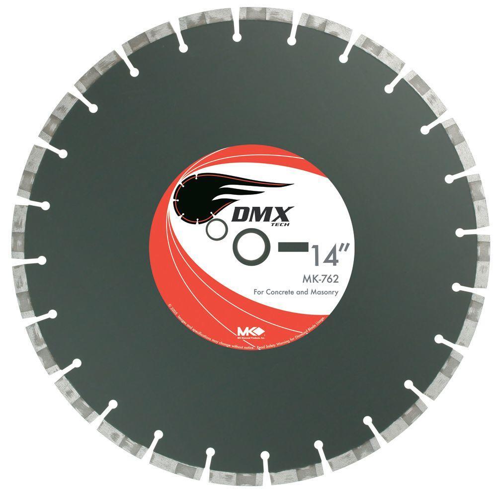 14 in. x 24 Tooth General Purpose Dry Cutting Segmented Diamond Circular Saw Blade