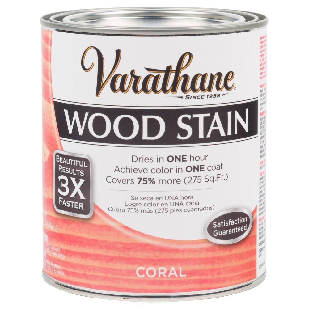 1 qt. 3X Coral Premium Wood Interior Stain