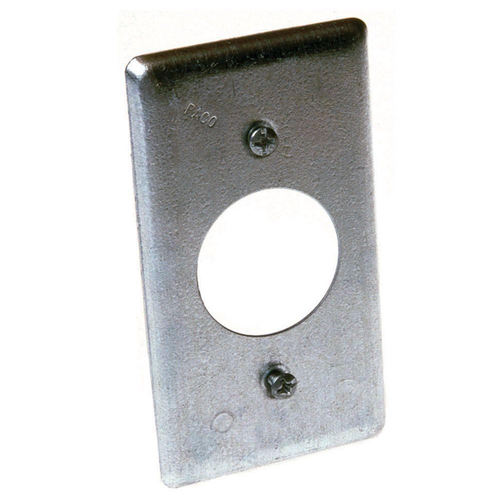 Single Gang Handy Box Cover for 20A Round Device