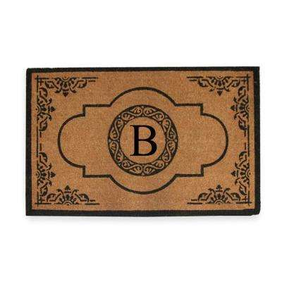 Coir Indoor Outdoor Rubber Backed Mats Rugs The Home Depot